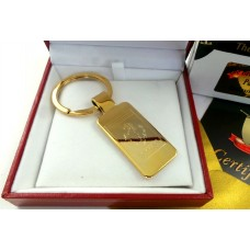 Ferrari Gold Plated Keyring